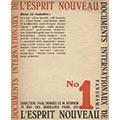 Okładka 1 numeru czasopisma L'Esprit Nouveau, 1920 r., fot. domena publiczna