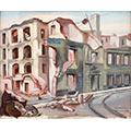Hotel Rzymski, 1939, gwasz, papier, 29,5 x 36, wł. prywatna, fot. M. Jaroszewski