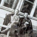 Maria Ewa i Jerzy Łunkiewiczowie, początek lat 30-tych
