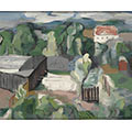 Krajobraz, 1932, ol., płótno, 60 x 73, Muzeum Narodowe w Warszawie, nr inw. MPW 3479 MNW, fot. Z. Doliński